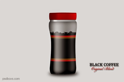 Make a Bottle Coffee In Photoshop