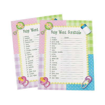 Buy baby shower game
