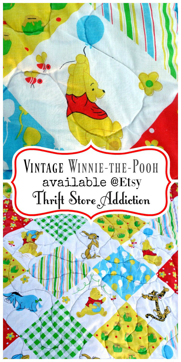 vintage Winnie the Pooh quilt