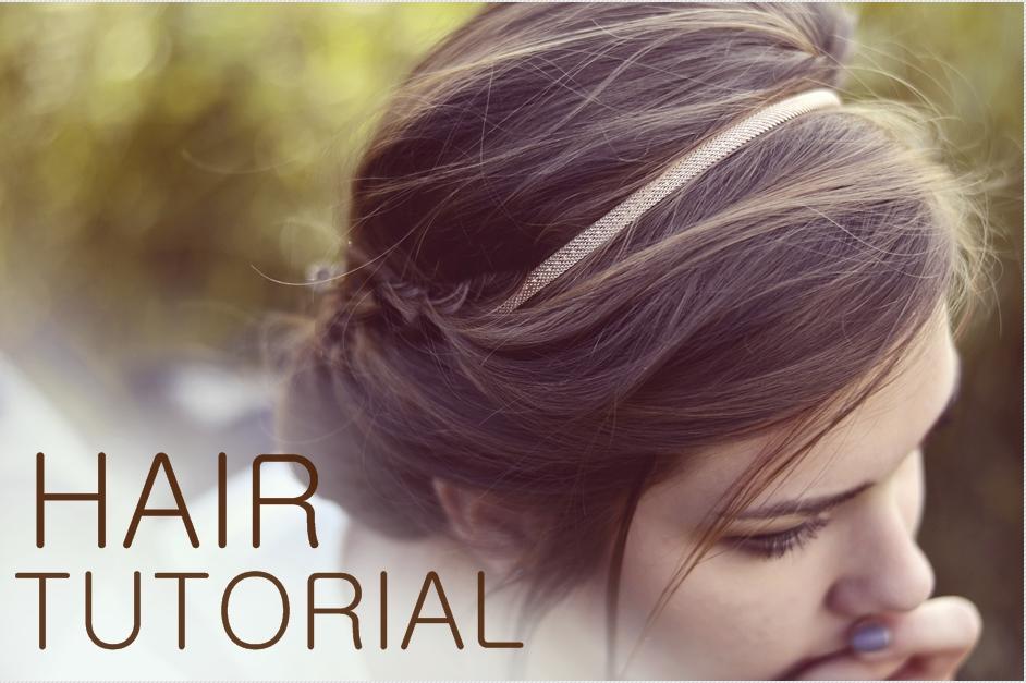 Łatwe i proste upięcie włosów na krótkich włosach | Mat