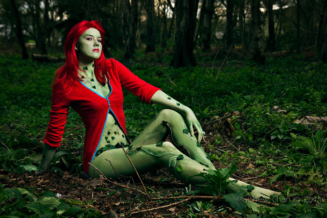 Poison ivy arkham knight cosplay