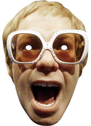 Máscaras de Elton John para Imprimir Gratis.