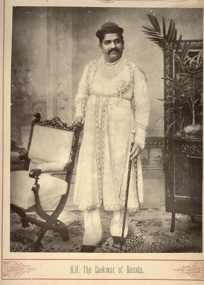 The Gaekwar of Baroda - Late 19th Century Photograph