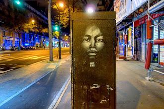 Sunday Street Art : Guaté Mao - boulevard Magenta - Paris 10