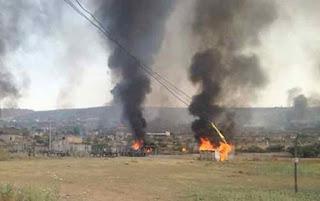 Disputa por predio deja 20 casas incendiadas y 5 personas heridas en Hidalgo