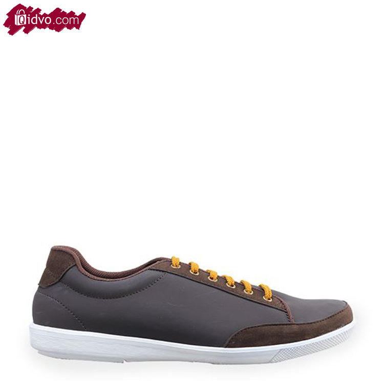 Sepatu Sneakers Mens republic Simma Coffee Brown