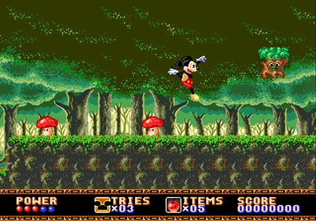 ... do Castle of Illusion Mickey Mouse