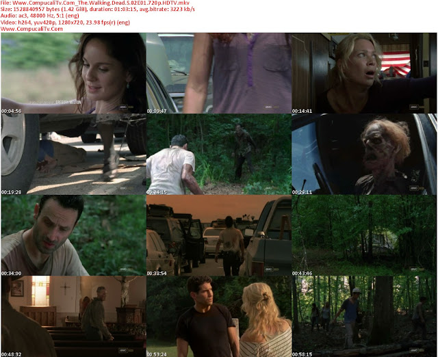 The Walking Dead [2011] 2 Temporada [720p HDTV ] Subtitulos Español Latino [Descargar]