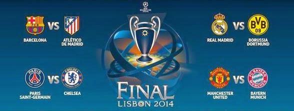 Sorteo de los Cuartos de Final de la Champions League 2013-2014 ...