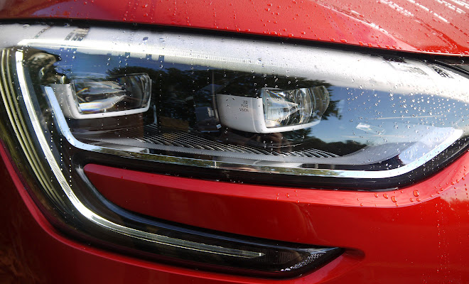 Renault Megane LED headlamps
