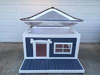 Construccion de caseta para perros