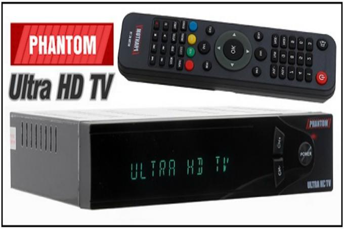 PHANTOM ULTRA HDTV ATUALIZAÇÃO V8.11.13 - 28/12/2016