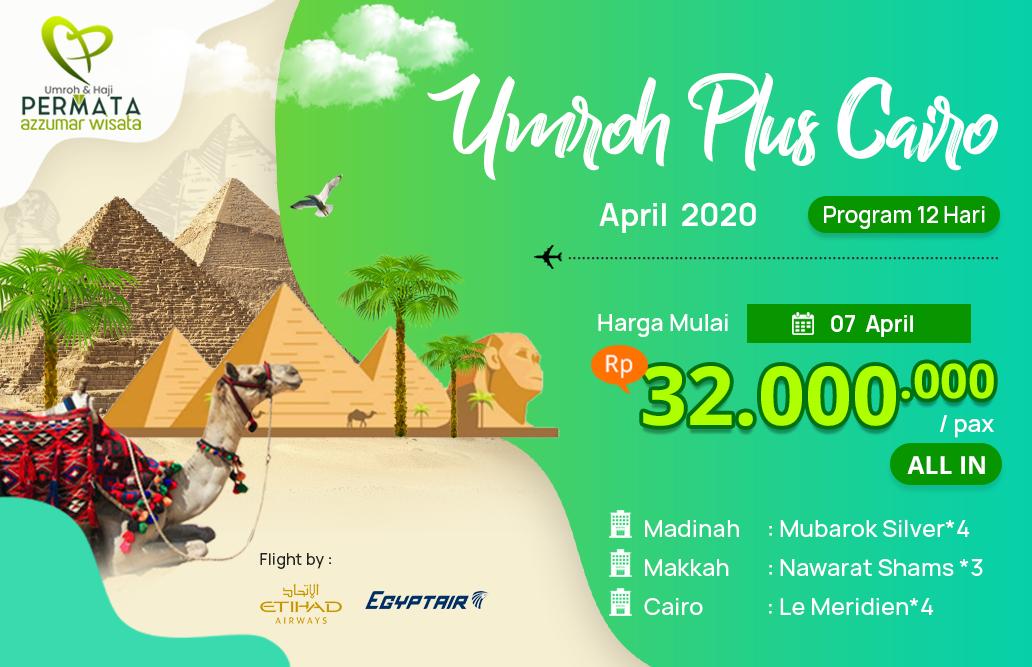 Biaya Paket Umroh april 2020 Plus Mesir Cairo Murah