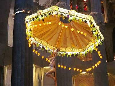 Baldaquin of Sagrada Familia Basilica