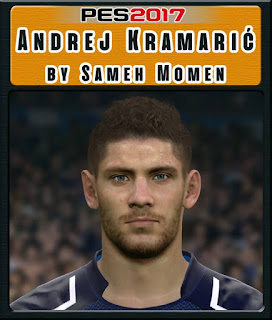 PES 2017 Faces Andrej Kramarić by Sameh Momen
