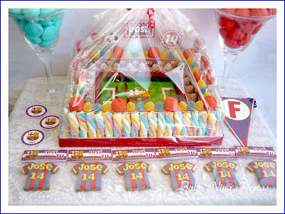kit de cumpleaños FC Barcelona