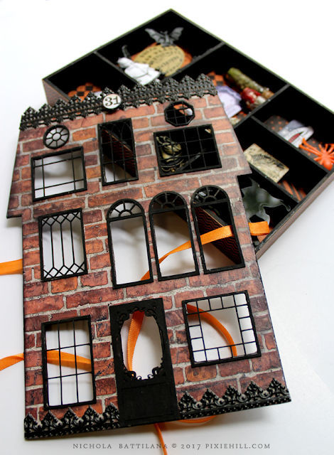 Haunted House Shadow Box - Nichola Battilana