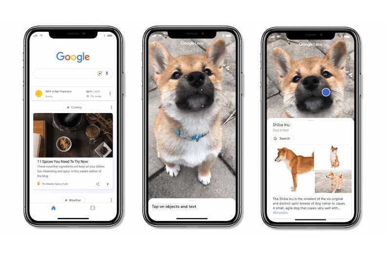 Google Lens arrives in iOS search app