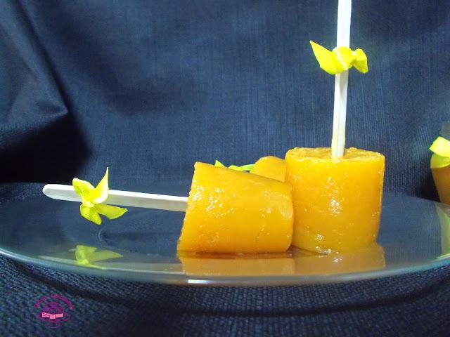 Gelatina de naranja natural