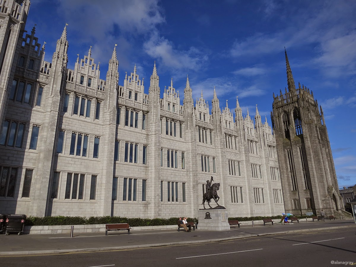 Things to do (if you fall for a sailor and find yourself spending time) in Aberdeen, Scotland – Part 1
