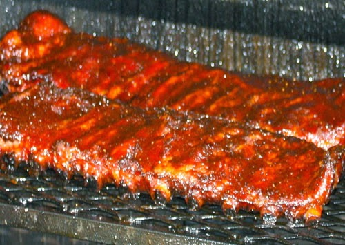 Smoked BBQ Ribs from Grillin' Gaines Catering