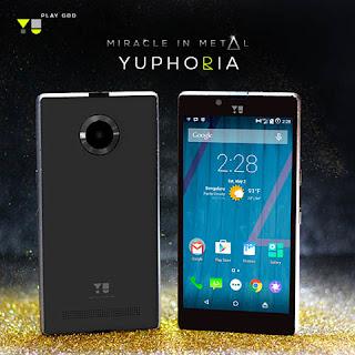 Yu Yutopia New Smart Phone launched