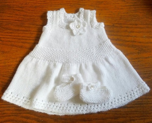 Arella Baby Dress - Free Pattern