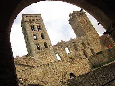Sant Pere de Rodes monastery in Catalonia