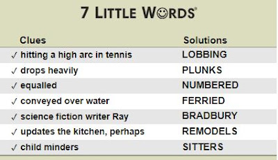 7 little words daily puzzle answers