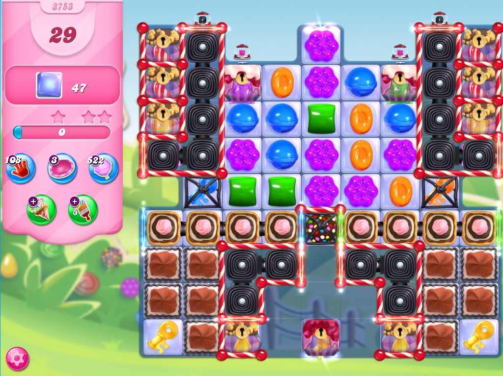 Candy Crush Saga level 3753