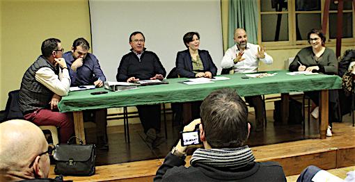 39e38aa2cb07 De gauche à droite   Christophe Guédon, Frédéric Chassin, Thierry Jullion,  Laurence Agat, Christophe Cabri, Laetitia Detry