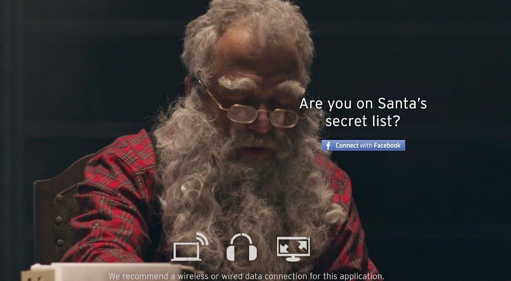 你也在聖誕老人的秘密清單中嗎?