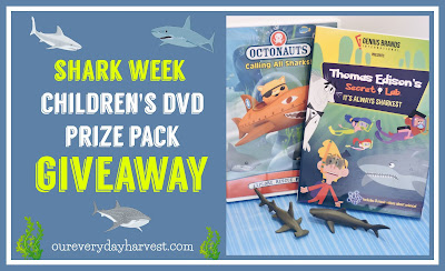 Shark Week Kid's DVD Prize Pack