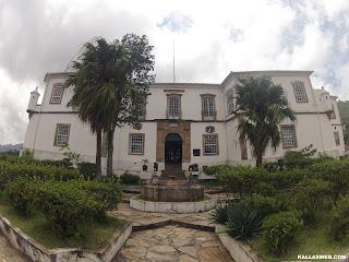Museu de mineralogia em Ouro Preto/MG.