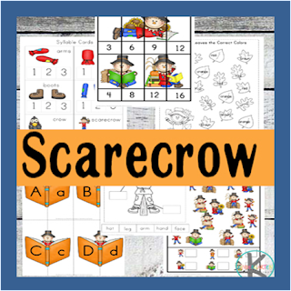 scarecrow preschool worksheets