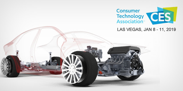 CES 2019 — The Summary of Automotive Tech Previews