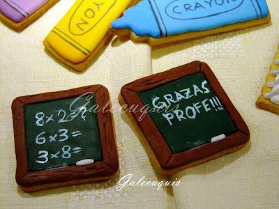 galletas decoradas pizarras