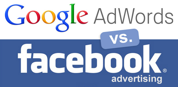 Google Adwords vs Facebook Ads,