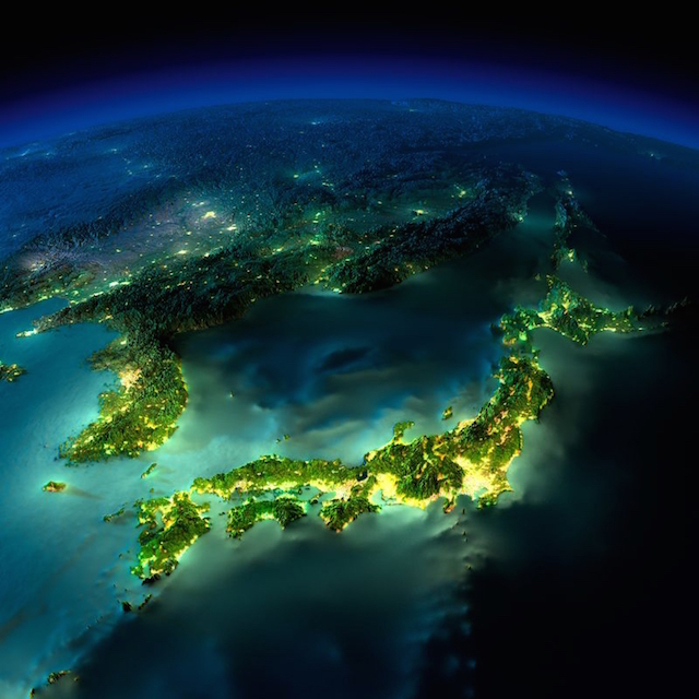 صور مذهلة للأرض التقطت ليلاً من الفضاء الخارجي بواسطة وكالة الفضاء الأمريكية ناسا 3
