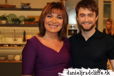 Daniel Radcliffe on Lorraine and Capital FM Breakfast Show