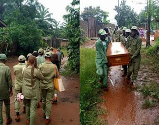 SAD: Female Corper Dies Months To POP (Photos)