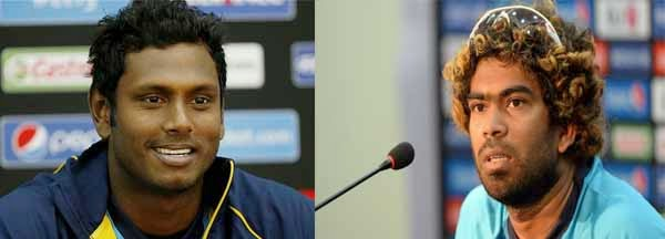 Angelo to captain ODIs and Tests, Malinga for T20s