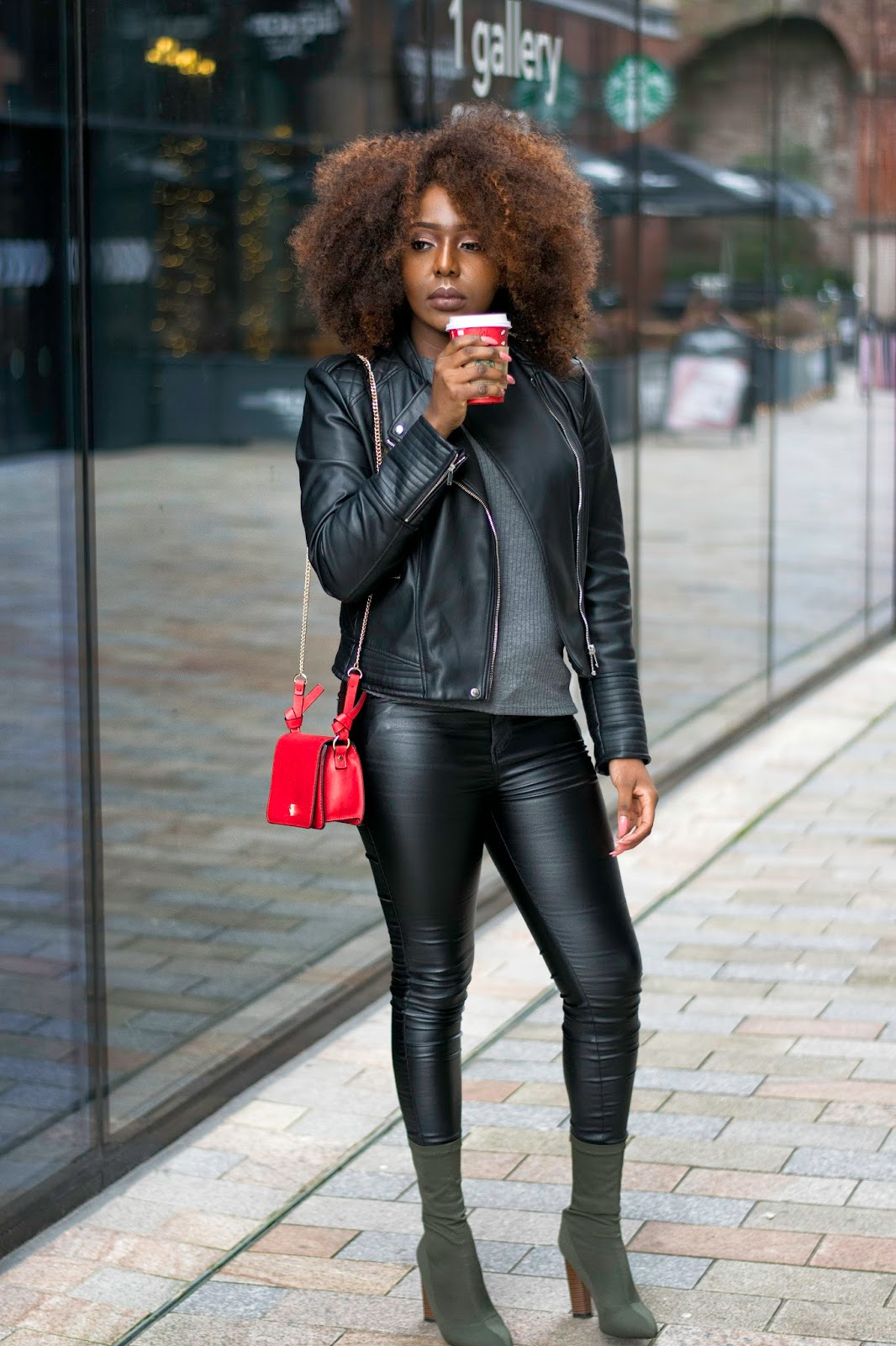 @stephylately faux leather pants