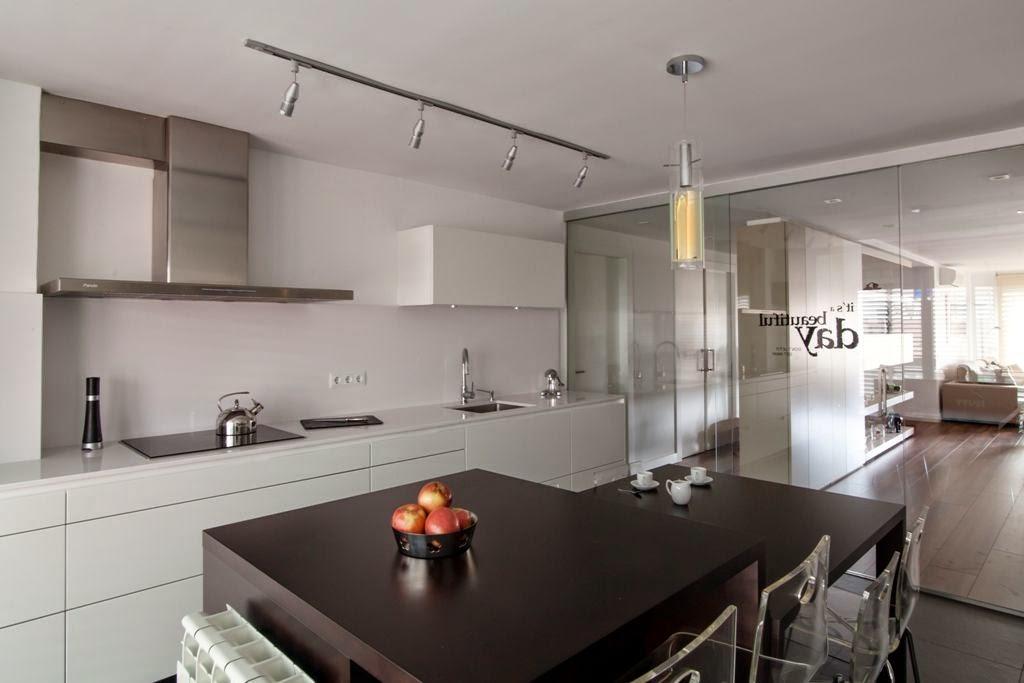 La cocina semiabierta una ventajosa elecci n cocinas for Cocinas con isla y salon
