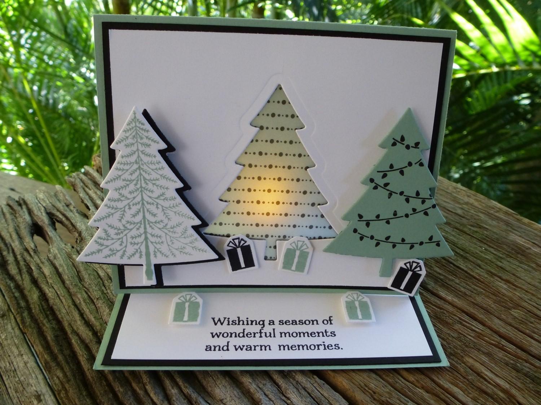 christmas fancy fold tutorial sneak peek for jai 284 - Fancy Christmas Cards