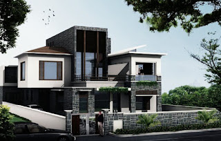 Modern Minimalist House with 3 Bedroom