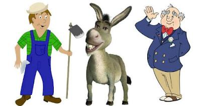 ΑΝΕΚΔΟΤΟ: Ο γάιδαρος, o κτηνοτρόφος και ο δήμαρχος.