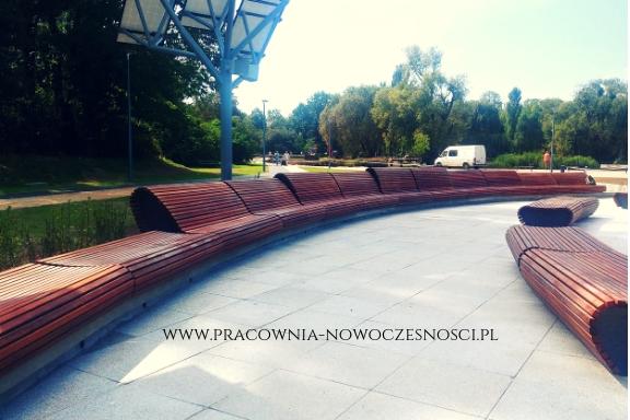 fontanna Park Szymańskiego Warszawa