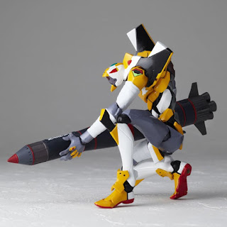 Revoltech Eva Mass Production Model Revoltech EVANGELION EVOLUTION EV-009 y Eva-00 Prototype Revoltech Evangelion