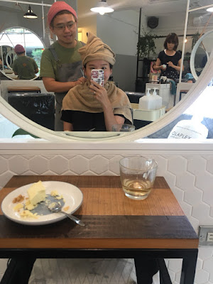 許許兒老幫手Comma Hair髮廊燙染髮記錄